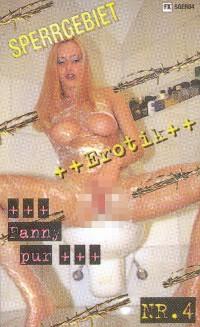 Sperrgebiet Erotik 4 - Fanny pur VHS Cover