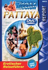 Agent 00SEX Mission: Pattaya DVD Cover