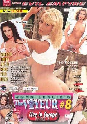 The Voyeur #8 DVD Cover