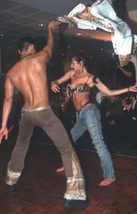 Monique La Belle mit Shawn Lee