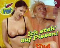 Ich steh auf Pissen! Und Du? VHS Cover von Magmafilm