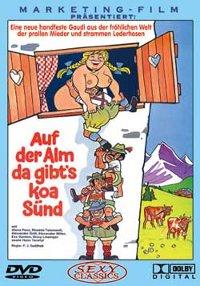 Auf der Alm da gibt's koa Sünd DVD Cover