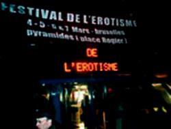 Festival D Le Erotisme in Brüssel 2004