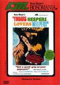 Finders Keepers... Lovers Weepers Russ Meyer DVD Cover