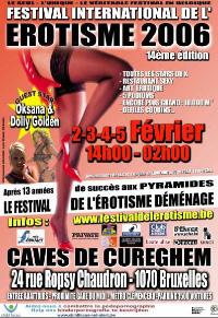 14. Festival DE L' EROTISME 2006