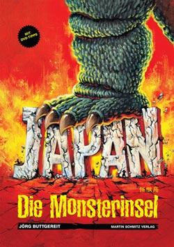 Japan die monsterinsel buch cover von Jörg Buttgereit
