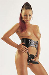 Triple Dick Strap-On Sextoy Bild von Orion