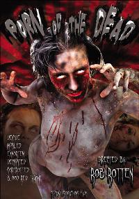 Porn of the Dead DVD Cover von Rob Rotten