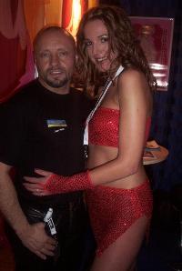 Jean Pallett mit Luna B
