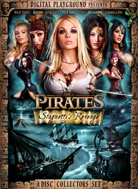 Pirates II DVD Cover von Digital Playground