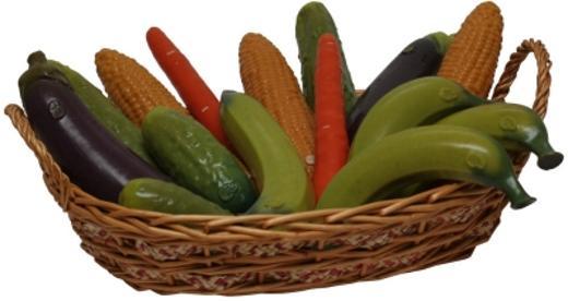 SelfDelve Gemüsekorb mit Dildos Bild