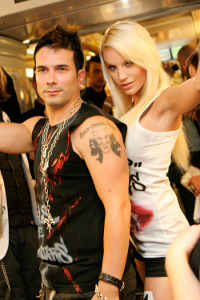 Marc Terenzi und Gina Lisa Foto