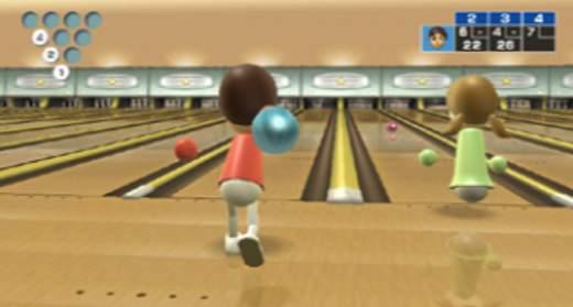 Wii Sports Bowling Screenshot - Nintendo