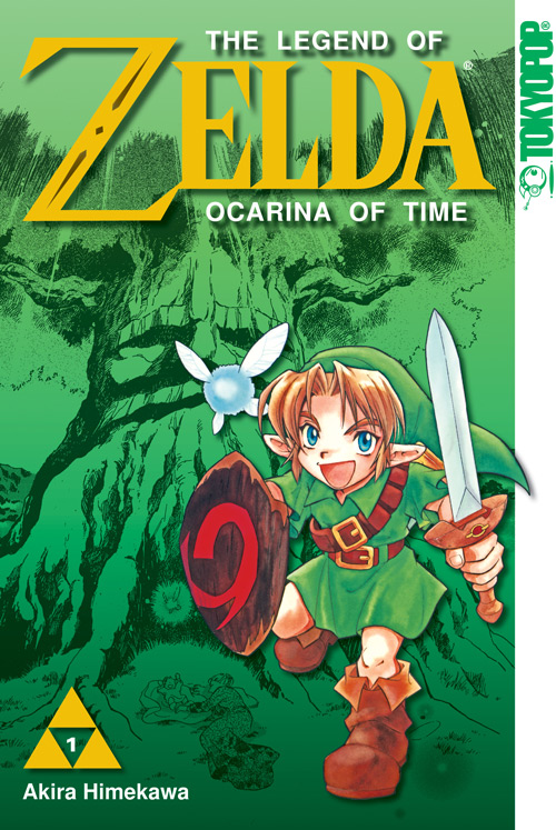 The Legend of Zelda Comic Cover