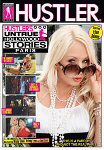 Hustlers Untrue Hollywood Stories Paris DVD Cover