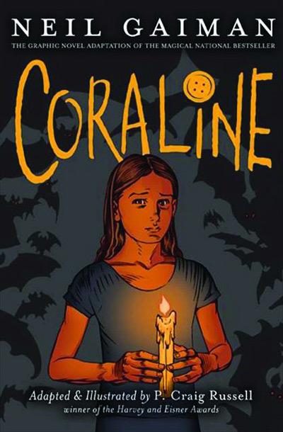 Coraline Comic Cover