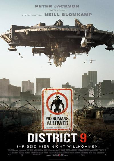 District 9 Film Plakat