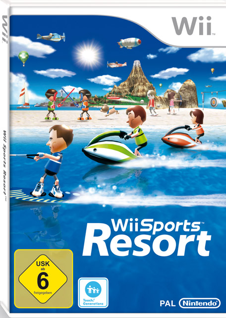 Wii sports resort cover