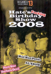 Hates fB show 2008 front Cover DVD