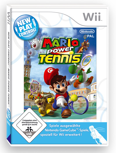 Mario power tennis cover