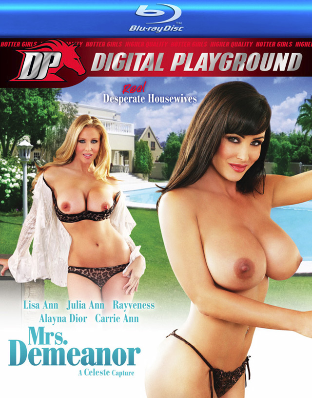 Mrs Demeanor Blu-ray Cover