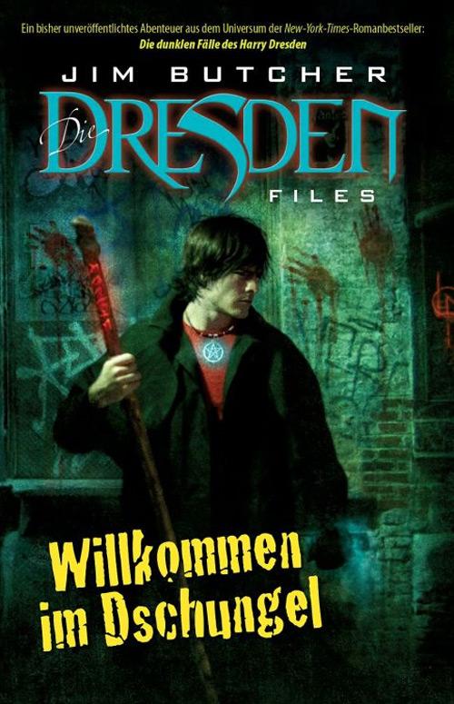 Jim Butchers Dresden Files Comic Cover