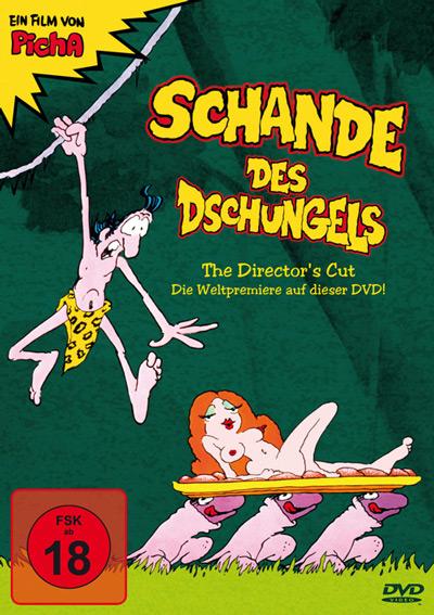 Schande des Dschungels DVD Cover