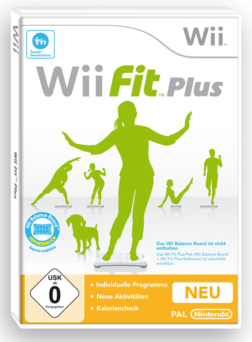 wii fit plus cover
