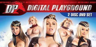 Fly Girls DVD Cover von Digital Playground
