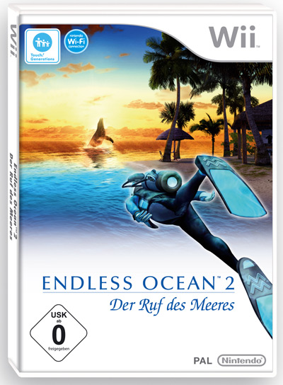 Endless Ocean 2 Wii Cover
