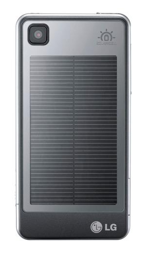 Solarpanel für LG GD510 Pop - Rückansicht - LG
