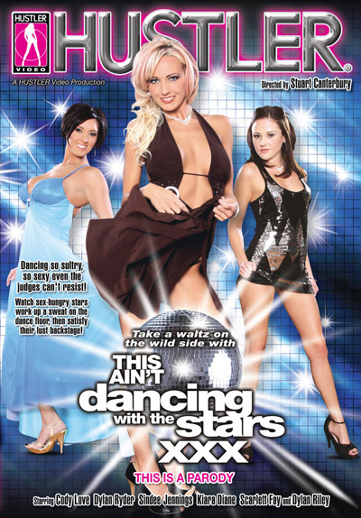 This Ain't Dancing With The Stars XXX DVD Cover