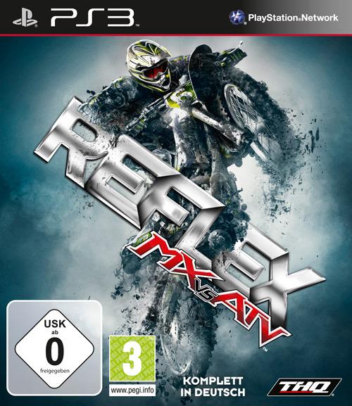 MX VS ATV Reflex PS3 Cover