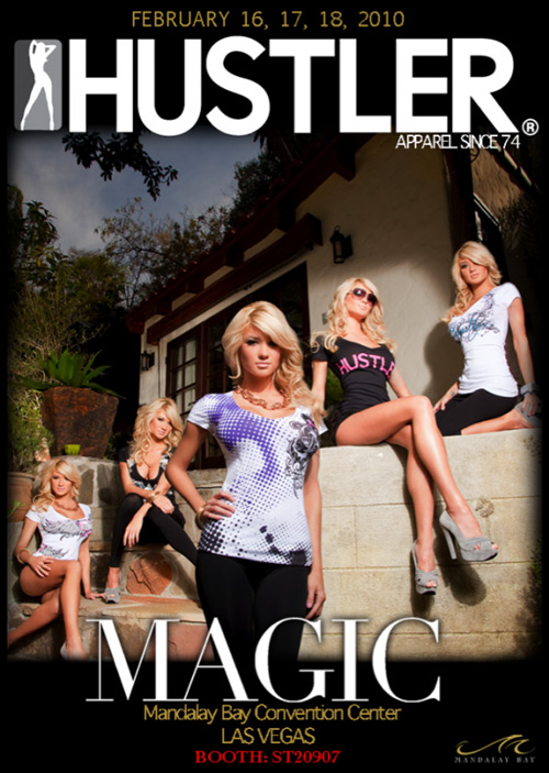 Hustler Apparel Magic Fashion Show Flyer