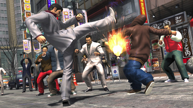 Yakuza 3 - Sega -Screenshot