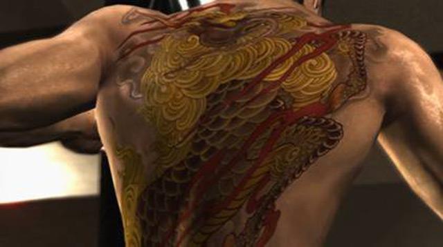 Yakuza 3 - Tattoo - Sega