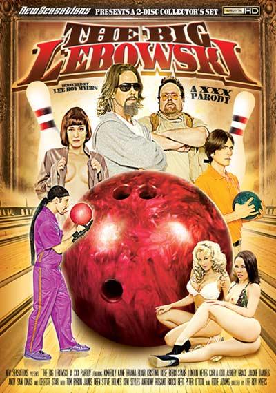 Big Lebowski XXX DVD Cover