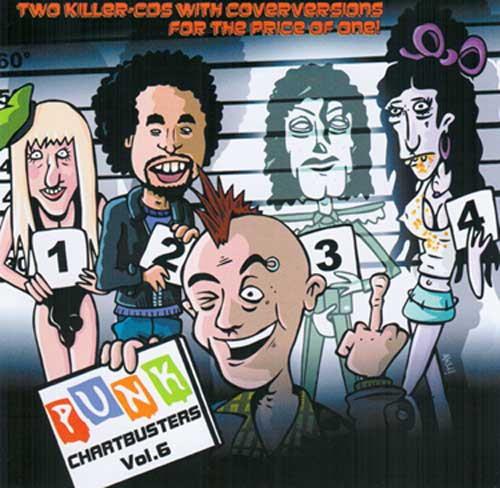 Punk Chartbusters Vol. 6 CD Cover