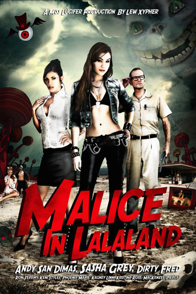 Malice in Lalaland mit Sasha Grey DVD Cover