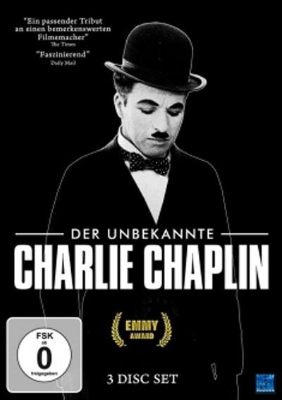 Charlie Chaplin Doku DVD Cover