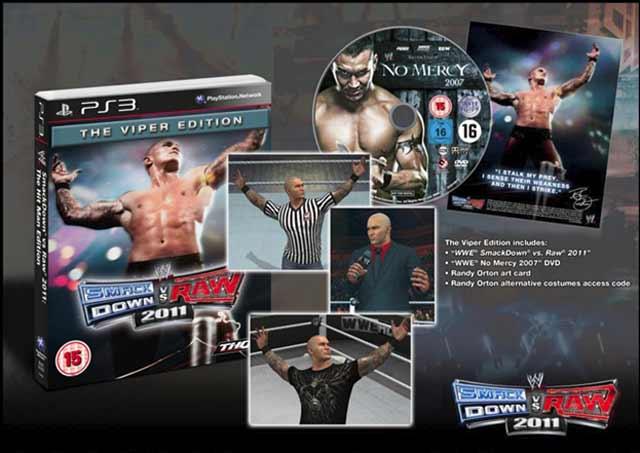 WWE SmackDown vs. Raw 2011: The Viper Edition Bild