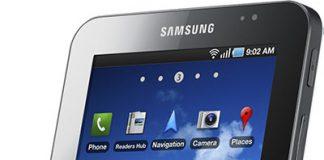 Samsung Galaxy Tab Bild
