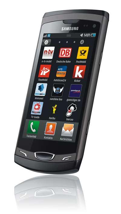 Samsung Wave II Bild