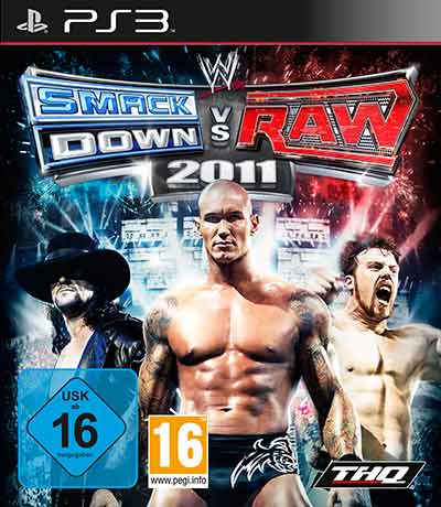 WWE 2011 Cover