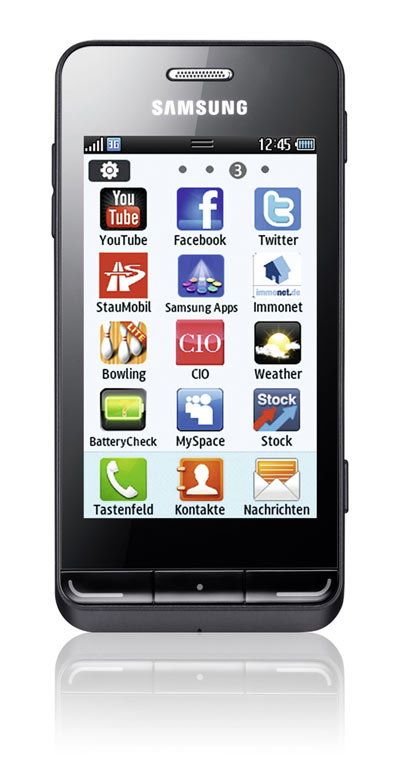 Samsung Wave 723 Front Bild