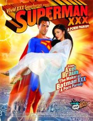 Superman XXX DVD Cover Bild