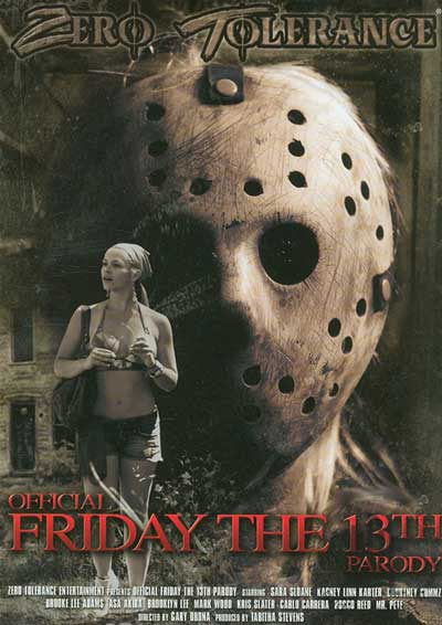 Official Friday The 13th Parody DVD Cover