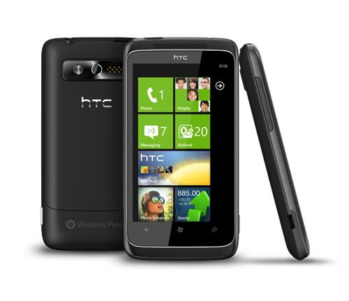 HTC 7 Trophy Bild
