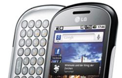 LG C550 Optimus Chat Bild
