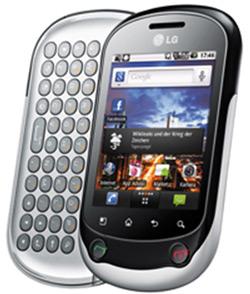 LG C550 Optimus Chat Bild